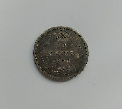*** Canada  10 Cents 1858 ***