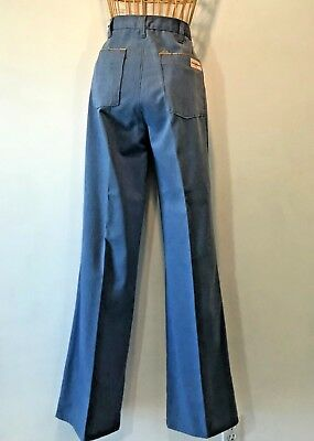 Vintage 1970s John Paul Goebel Bell Bottom Jeans NWT size 12 32x36 Piping P2