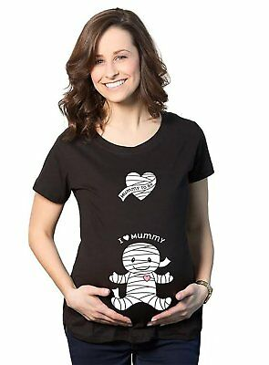 Maternity Baby Peeking T Shirt Funny Pregnancy Tee For Expecting Mothers XL