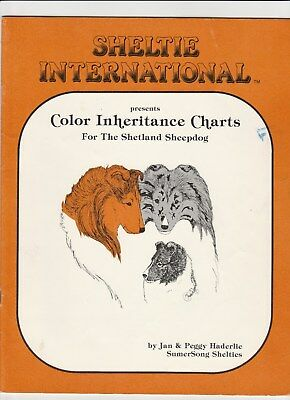 Sheltie International Color Inheritance Chart Jan & Peggy Haderlie