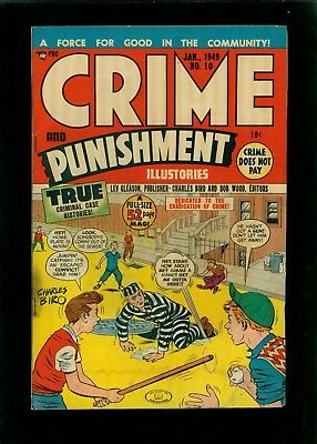 Crime and Punishment 10 & 11 & 16  & 17 & 35 - Lot of 5