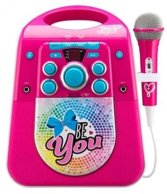 JoJo Siwa Light Up Karaoke Machine with Microphone