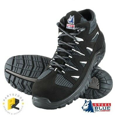 Steel Blue Darwin Work Safety Shoes 311401 Composite Toecap Airport Friendly
