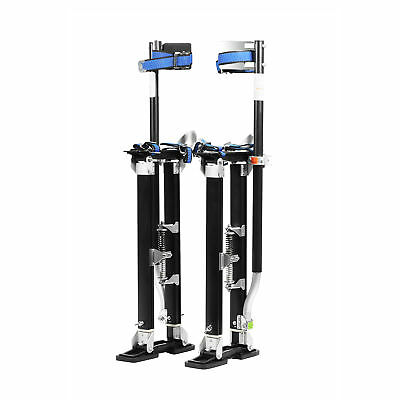 "Pentagon Tool Mag Pros Magnesium 24-40"" Black Drywall Stilts"