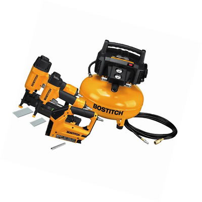 Air compressor Stapler - Heavy Duty Brand Name BOSTITCH 3 Piece Tool  Combo Kit