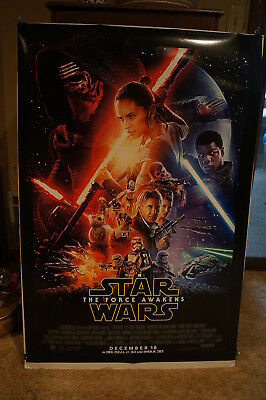 Force Awakens  Star Wars  Ford  Fisher Montage Advance  Ds  Rolled  1 Sheet 2015