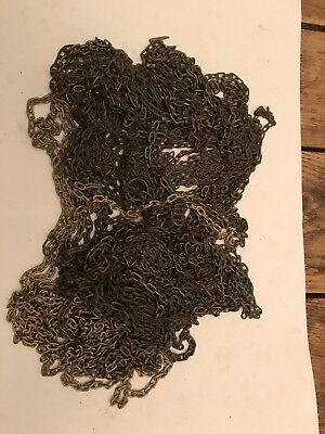 Antique Lot Of Black Forest Cuckoo Clock and Trumpeter Clock Chains 3.5 Pounds