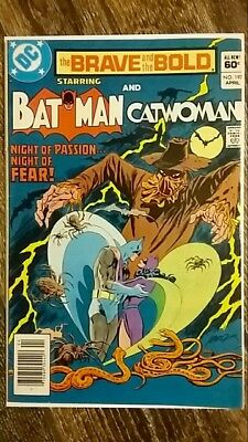 The Brave and The Bold #197 (1983) Earth-2 Batman Catwoman Marriage!  Nice Copy!