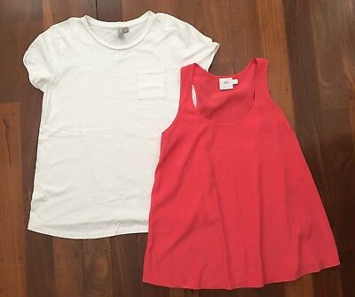 Asos Maternity T-shirt and Singlet - Size 8