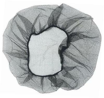 """1000 Pieces 21"""" Nylon Hair Net Cap Snood for Medical Food Service"""