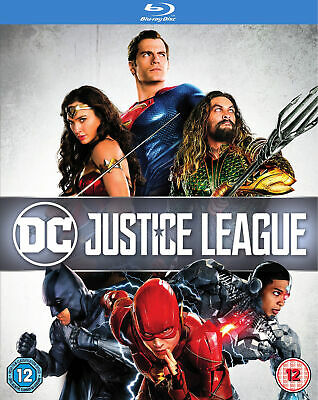 Justice League [2017] (Blu-ray + Digital Download)