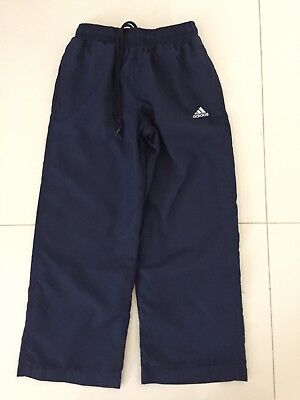 Boys Adidas Track Pants - Size 8 - AS NEW