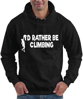 I/'d Rather be Climbing Hoodie