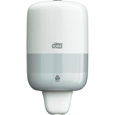 Tork 561000 Mini Liquid Soap Dispenser S2 System White G6T