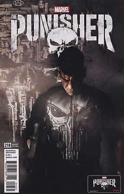 PUNISHER ISSUE 218 - FIRST 1st PRINT NETFLIX TV VARIANT COVER - WAR MACHINE