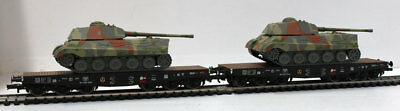 LILIPUT H0 – 230144 – SET 2 PLATFORMS SSyms with LOAD WAGONS armed – DR Ep. II