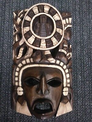 Native American Wood Mask (Very Special and Unique)