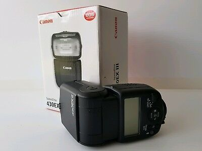 Canon Speedlite 430EX III Shoe Mount Flash for For Canon - as new