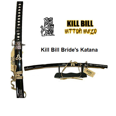 Kill Bill-Bride's  Katana Sword by Hattori Hanzo with stand