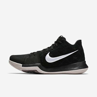 Nike Kyrie 3 EP Irving Black Silt Red Mens Basketball Shoe 852396-010 US7-