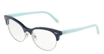 100% Authentic Tiffany&Co TF2156  8230 Blue/Silver Glasses Frame