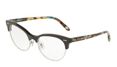 100% Authentic Tiffany&Co TF2156  8236 Brown/Silver  Glasses Frame