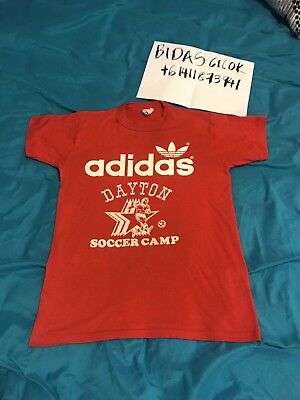 Vintage Adidas 80s Sz L  Made In Us 50/50