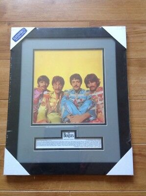 the Beatles framed print sealed