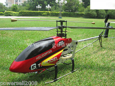 New Red Length 72.5CM Remote Control Plane Helicopter Model Gift Children Toys