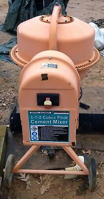 Cement Mixer $1 No Reserve See other items all must go!