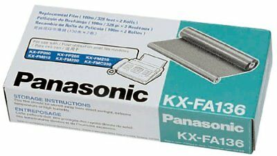Panasonic KX-FA136 Replacement Ribbon for KX-FP200/FM210/220/205, KX-FMC230