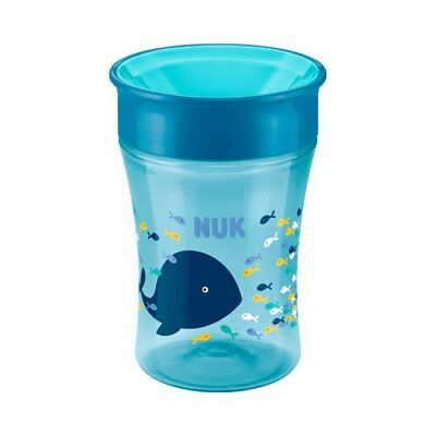 NUK Trinklernbecher Magic Cup 230ml NEU rosa/pink blau/türkis blau/orange