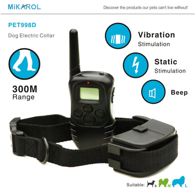 Dog Remote Vibration And Shock Training Collar
