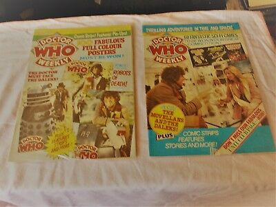 2doctor who comics. may 24th. 23 april. 1980. lot2 clean and ingood condition.