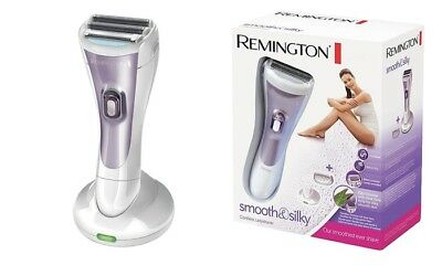 New Remington WDF4840 Double Foil Head Cordless Womens Wet & Dry Smooth Shaver