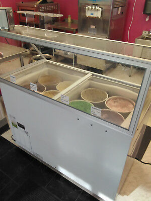 Commercial Ice Cream Dipping Cabinet, Excellence EDC-8