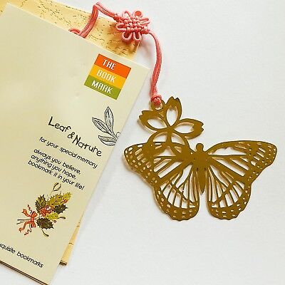 Gold Butterfly Metal Bookmarks For Books Book Markers Gift For Readers