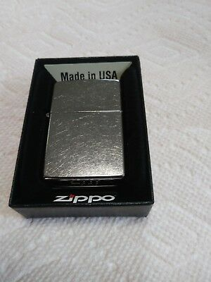 Zippo Lighter - Regular Street Chrome # 207 - New in Box