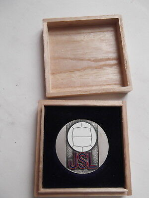 Sport Medaille Medal Japan Soccer League 1967  Rare