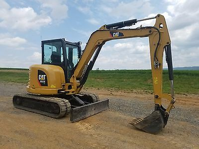 2012 Caterpillar 305.5E CR Mini Excavator Track Hoe Hydraulic Plumbed Blade Cat.