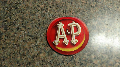 A&P NEEDLE PACK Book Advertisment Vintage Grocery Store Atlantic & Pacific