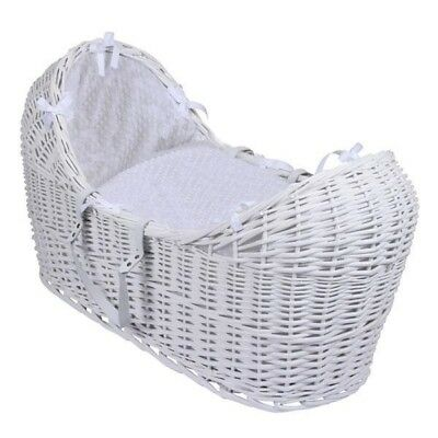 Quality padded British made luxury Noah pod snug Moses basket covers apples pear