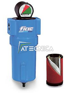 "Air filter Fiac FD 8500 manometer differential junction 1-1/2"" compressed air"