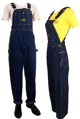 1960s Vintage Bib Overalls Washington Dee Cee Deadstock Many Sizes Avail.