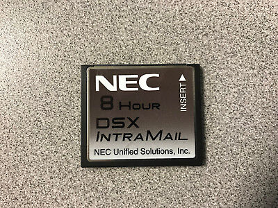 NEC DSX Intramail 2 port 8 hour voicemail 1091060 Used