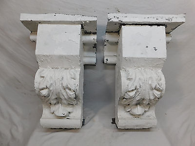 Set of Victorian Style Tin Cornice Corbels - Circa 1885 Architectural Salvage
