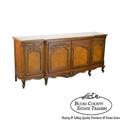 Century Furniture Louis XV Style Burl Wood Sideboard