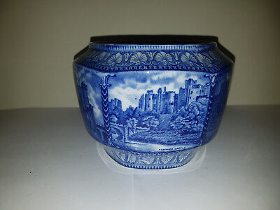 Maling Ware Pottery Biscuit Barrel