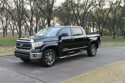 2015 Toyota Tundra SR5 Crew Max TSS All Terrain One Owner Perfect Carfax Leather Lifted SR5 TSS All Terrain Pkg MSRP New $45021