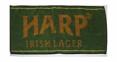 "Harp Lager Cotton Bar Towel 20"" x 9"" (pp)"